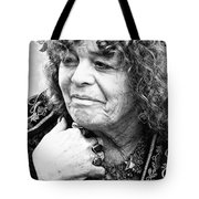 Fortune Teller Black And White Tote Bag