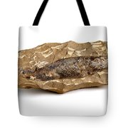 Fossilized Fish Tote Bag