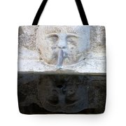 Fountain Face Tote Bag