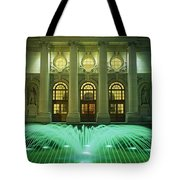 Fountain In Front Of A Government Tote Bag