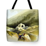 Fountain Of Job Valley Of Hinnom Tote Bag