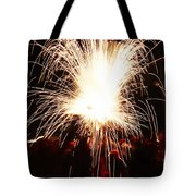 Fountain Of Sparks Tote Bag