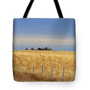 Four Outbuildings In The Field Tote Bag