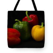 Four Peppers Tote Bag