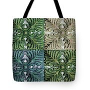 Four Times Four Iv Tote Bag