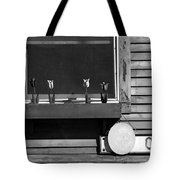 Four Tulips Cafe Bw Tote Bag