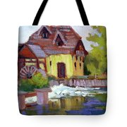 Fourge Mill Giverny Tote Bag