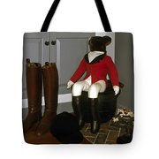 Fox Hunt Decorations Tote Bag