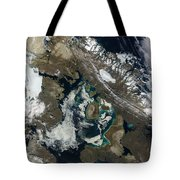 Foxe Basin, Northern Canada Tote Bag by Stocktrek Images