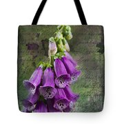 Foxglove Digitalis - Love  And Christ Tote Bag