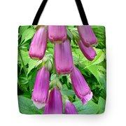 Foxglove Flower Buds - Digitalis Purpurea Tote Bag