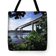 Foyle Bridge, Derry City, Co Tote Bag