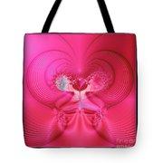 Fractal 30 Love Is In The Air Tote Bag