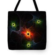 Fractal Network Tote Bag