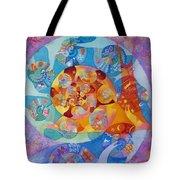 Fractal Snail Tote Bag