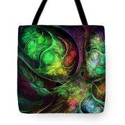 Fractal Spirals Tote Bag