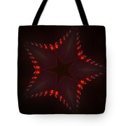 Fractal Star Tote Bag