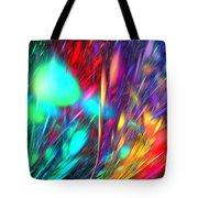 Fractal Storm Tote Bag