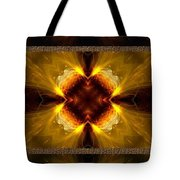 Fractal Triptych Tote Bag