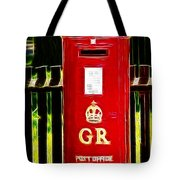 Fractalius Pillar Box Tote Bag