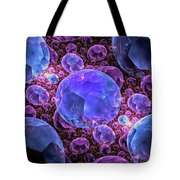 Fractals Jewels Tote Bag