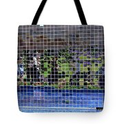 Fractured Image Tote Bag