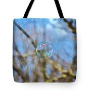 Fragile Contrast Tote Bag