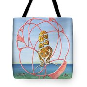 Fragmented Out Comings Tote Bag