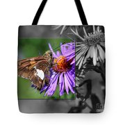 Framed Butterfly Tote Bag