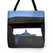 Framed Elegance Tote Bag