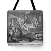 France: Baptism At Home Tote Bag
