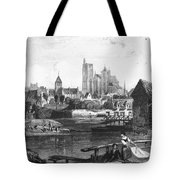 France: Bourges Tote Bag