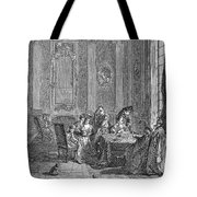 France: Gambling, C1750 Tote Bag