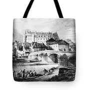 France: Lapalisse Tote Bag