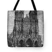France: Reims Cathedral Tote Bag