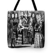 France: Royal Wedding Tote Bag