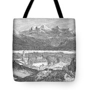 France: Spa, 1856 Tote Bag