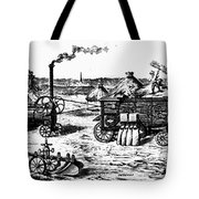 France: Steam Threshing Tote Bag