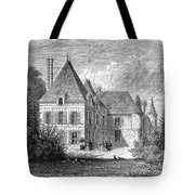 France: Wine Ch�teau, 1868 Tote Bag
