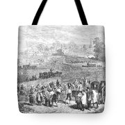 France: Wine Harvest, 1871 Tote Bag
