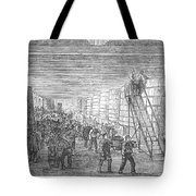 France: Winemaking, 1854 Tote Bag