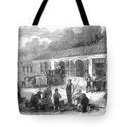France: Winemaking, 1871 Tote Bag by Granger