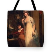 Frances Borlase Later Frances Grenfell And Pascoe George Norman Grenfel Tote Bag by Sir Martin Archer Shee