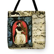 Francesco Landini Italian Composer Tote Bag by Photo Researchers