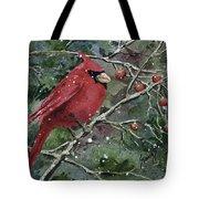Franci's Cardinal Tote Bag