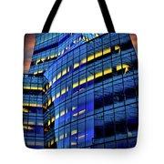 Frank Gehrys Iac Building Tote Bag