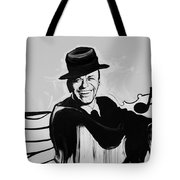 Frank In Black And White Tote Bag