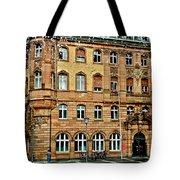 Frankfurt On A Rainy Day Tote Bag