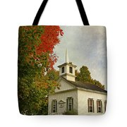 Franklin Church Tote Bag