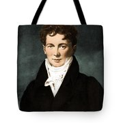 Fran�ois Magendie, French Physiologist Tote Bag by Science Source